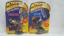 Queen ALIENS PREDATOR Action Masters set of 2 Die Cast New MOC figures 1994
