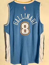 Adidas Swingman 2015-16 NBA Jersey Denver Nuggets Danilo Gallinari Light Bl sz L