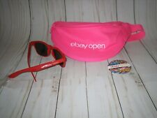 2019 ebay open swag lot neon pink fanny pack sunglasses 1 button las vegas