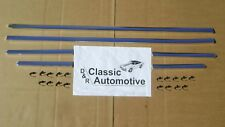 Camaro 68 RS Rally Sport Rocker Molding 6pc Set 1968 with free mounting clips