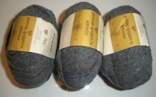 Rowan Scottish Tweed Dk 3 Balls Shade 008 Herring 100% Wool Gray