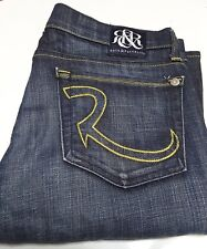 RR Rock & Republic Low-Rise Flare Jeans for Woman (Size 27x32)