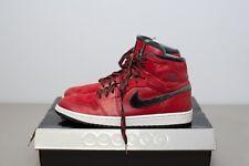 NIKE Air Jordan 1 Retro I Hi Premier 332134-631 Red Dark Army Size 10.5 14d19bbf74f1