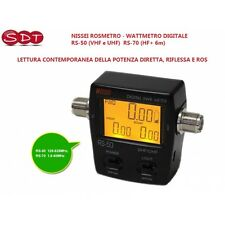 Nissei Swr-Messgerät - Leistungsmesser Digital RS-70 (HF + 6m) - Leseleuchte