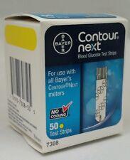 50 Bayer Contour Next Test Strips (7308) NDC# 0193-7308-50 Exp. 02/2019