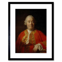 Ramsay Historian Philosopher David Hume Painting Framed Art Print 9x7 Inch
