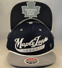 Toronto Maple Leafs Hat Sweep NHL Zephyr Adjustable Snapback OSFA