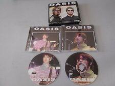 RARE COFFRET CD + DVD OASIS THE DOCUMENT
