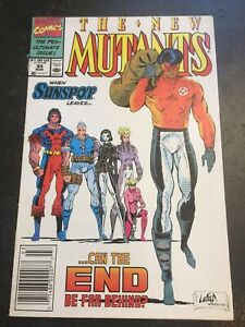 New Mutants#99 Awesome Condition 7.5(1991) 1st Feral,1st Shattershot(cameo)