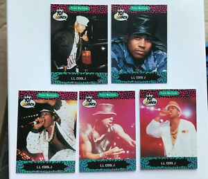 5 LL Cool J trading cards - joblot