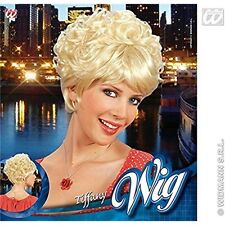 Tiffany Straight/curly Short Blonde Wig For Hair Accessory Fancy Dress