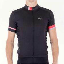 Bellwether Phase Men's Short Sleeve Jersey Top Black XL