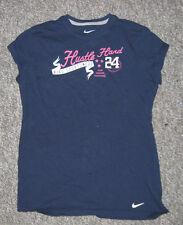 Girl's Nike XL Tshirt Navy Hustle Hard Vim Vigor Victory 24