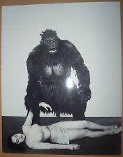 ACQUANETTA CAPTIVE WILD WOMAN JUNGLE SEXY GLAMOUR  glossy b&w movie promo photo