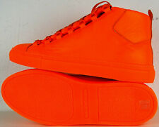 BALENCIAGA High-Top Sneaker Arena Opaque Fluo Herren Schuhe Neon Orange Gr42 NEU