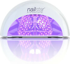 NailStar® Professional LED Nail Dryer Lamp for Gel Polish with Timers (White)
