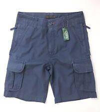 "LL Bean Men's Allagash Cargo Shorts Size W30"" Vintage Indigo"
