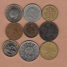 More details for nine scandinavia dated 1884 to 2004 in good fine or better condition