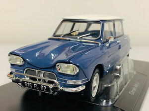 Norev Citroën AMI 6 1965 Bleu Ardoise  1/18 181537 1020 1