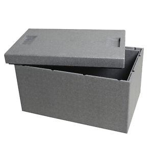 Thermobox 35l Styropor Kühlbox Kiste Box Essen Warmhaltebox wärmen kühlen E8246