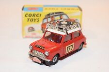CORGI TOYS 339 BMC MINI COOPER S RALLY MONTE CARLO 1967 MINT BOXED RARE SELTEN