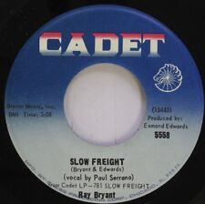 Jazz 45 Ray Bryant - Slow Freight / If You Go Away On Cadet