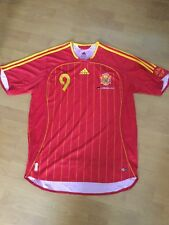 Adidas Spain Home Shirt Jersey Torres Large 2006