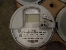 GE I-210+CE DIGITAL WATTHOUR ELECTRIC SMART METER CL 200 240V 3W FM2S