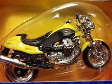 MAISTO Road & Track - 1/18 Scale Motorcycle Yellow Moto Guzzi V10 Centauro