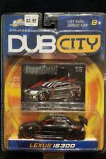 NEW JADA DUB CITY IMPORT RACER LEXUS IS 300 #041 BLACK 1:64 (JADA-1)