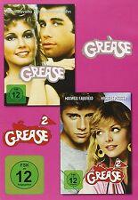 GREASE BOX (JOHN TRAVOLTA, OLIVIA NEWTON-JOHN,...) 2 DVD NEU