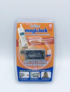 NEW! Sealed! Original MAGIC JACK Phone System USB Phone Jack