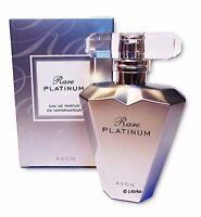 AVON Rare Platinum Women's Perfume Eau de Parfum Spray Genuine Rare 50ml
