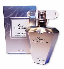 AVON Rare Platinum Women's Perfume Eau de Parfum Spray Genuine 50ml