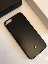 NEU MONTBLANC *MST* iPhone 6 / 6S Hülle Hard Phone Case black NP:200€ -2078