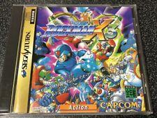 Rockman X3  / Sega Saturn Battle Game SS Japan NTSC-J