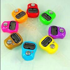 5-Digital Mini Finger Ring Tally Counter Hand Held Knitting Row TASBEE Click 1pc