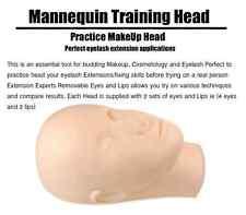 TH01-HZT MANNEQUIN TRAINING HEAD EYELASH EXTENSION MAKEUP FACE PAINTING PRACTICE
