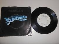 "7"" OST J Williams : Superman - The Movie ( Theme / Main Title ) WARNER BROS US"
