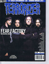 FEAR FACTORY / MELVINS / MIKE PATTON	Terrorizer	No.	89	May	2001