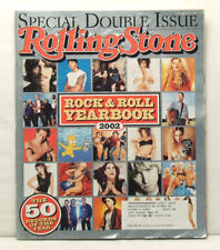 ROLLING STONE #912/913 Rock And Roll Yearbook 2002 QO