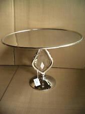 """Tortenplatte """"MARAVILLA"""" Aluminium+Glaskristall ."""