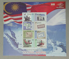 2011 Malaysia Indonesia Joint issue Indonesia Stamp Sheet MINT MNH