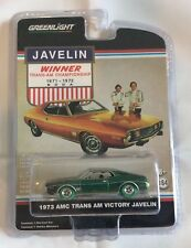 Greenlight 1:64 1973 AMC Trans AM Victory Javelin Hobby Exculsive Green Machine