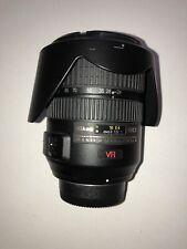 Nikon AF-S NIKKOR 24-120mm 1:3.5 - 5.6 G VR Lens Works It Vibrates & Is  Noisy