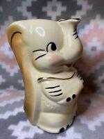 Vintage Leeds Pottery Disney's Dumbo Pitcher~Gold Trim~American Bisque~Elephant