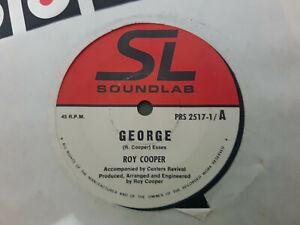 GEORGE // ROY COOPER RARE OZ POP SOUNDLAB 1977 ?AUTOGRAPHED