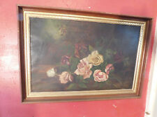 ORIGINAL OTHON FRIESZ OIL PAINTING OF ROSES