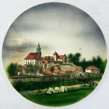 Antique Villeroy & Boch German Plate Charger AKERSHUS FORTRESS