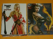 DUNGEON DOLLS 'Fantasy Art' Base Set OF 50 Trading Cards Bad Axe/Axebone Cards